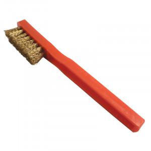 Cepillo de ante rojo
