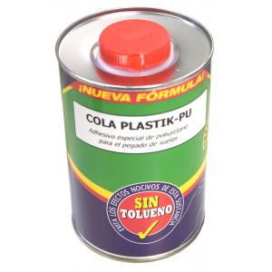 Pegamento Plastik-PU 1 LT